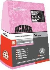 Acana сухой корм для взрослых собак Lamb & Apple Formula