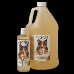 Шампунь для кошек и собак Aloe Oat bath Medicated Shampoo из овса и алоэ