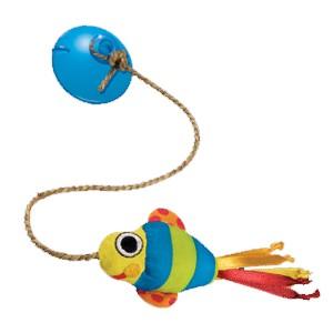 "PETSTAGES Dangling Fish Игрушка для кошек ""Рыбка на присоске"""