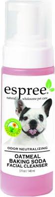 Oatmeal Baking Soda Facial Косметическое средство пена с протеинами овса и пищевой содой для собак и кошек.