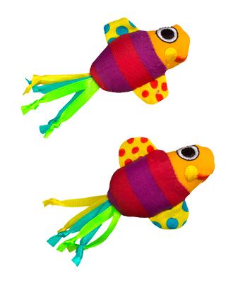 """PETSTAGES Fishy Fun Игрушка для кошек """"Рыбки с кошачьей мятой"""""""