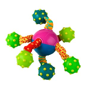 "PETSTAGES Spider Ball Игрушка для собак ""Шар паук"""
