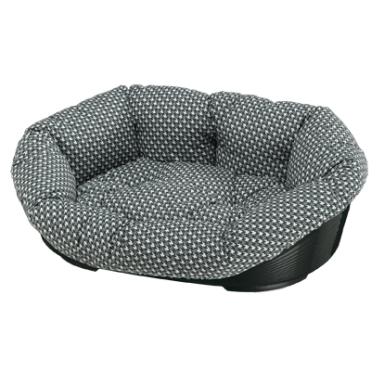 Ferplast пластиковый лежак для собак с подушкой SOFA