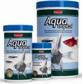 корм в хлопьях для тропических пресноводных рыб