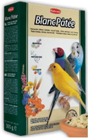 корм премиум класса для всех декоративных птиц BLANC PATEE