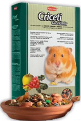 Комплексный основной корм для хомяков и мышей Padovan GRANDMIX CRICETI