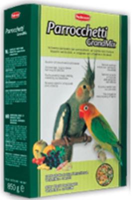 Комплексный корм для средних попугаев GRANDMIX PARROCCHETTI