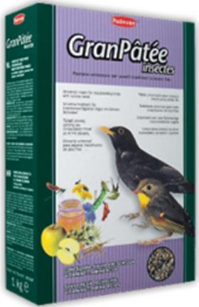 Корм для насекомоядных птиц с высушенными насекомыми GRANPATEE INSECTES