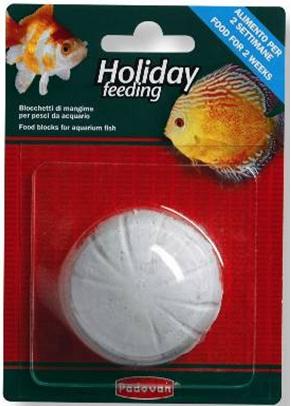 прессованный корм для всех видов аквариумных рыбок HOLIDAY feeding