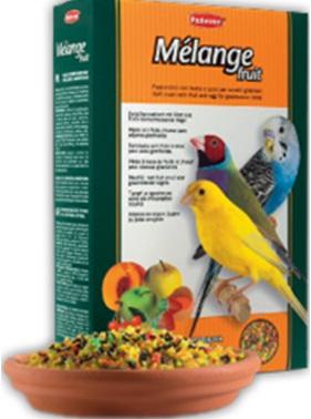Дополнительный корм с фруктами и яйцом для зерноядных птиц MELANGE FRUIT