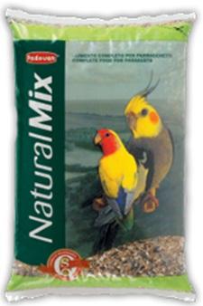 Корм для средних попугаев NATURALMIX PARROCCHETTI
