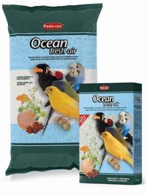 Гигиенический наполнитель для птиц с измельченными ракушками и анисовым ароматом OCEAN fresh air