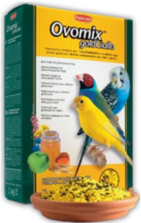 Корм для выкармливания птенцов и при линьке декоративных птиц OVOMIX GOLD giallo
