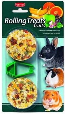 Лакомство для мелких декоративных животных Padovan Rolling treats fruits