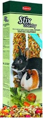 Лакомые палочки с овощами для кроликов и морских свинок Padovan STIX COUNTRY