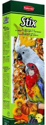 корм для средних и крупных попугаев STIX