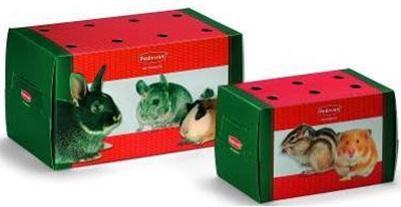 Коробка для краткой транспортировки грызунов или птиц