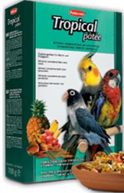 Дополнительный корм для птиц средних размеров TROPICAL Patee