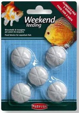 прессованный корм для всех видов аквариумных рыбок WEEKEND feeding