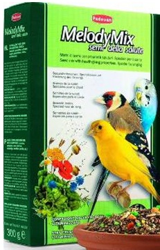 корм для зерноядных птиц (канареек, маленьких попугаев, маленьких экзотических птиц, щеглов, зябликов, воробьев и т.д.) MELODYMIX