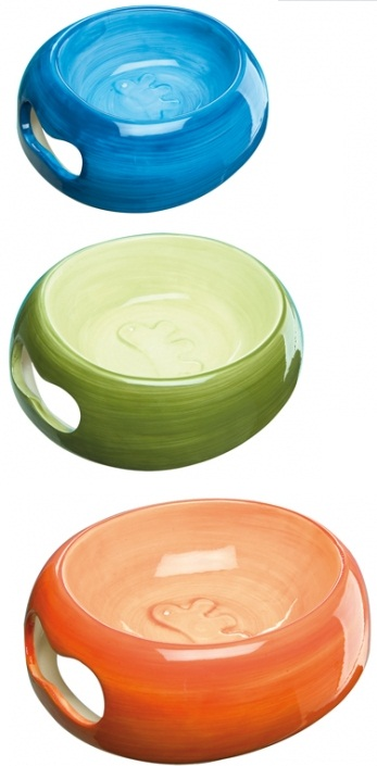 Миска для корма керамическая для собак и кошек Ferplast COMET