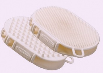Ferplast GRO 5933 двухсторонняя скребница-перчатка из резины