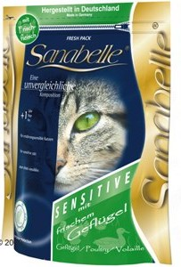 Sanabelle Sensitive with Poultry Корм для кошек Бош Санабелль Сенситив с Птицей