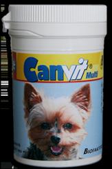 Комплексные витаминные таблетки для собак Канвит Мульти
