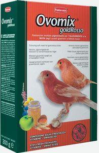 Корм OVOMIX GOLD rosso комплексный/яичный для птенцов с красным оперением