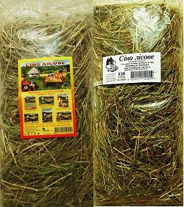 Сено «Лесное», «Луговое», «Садовое зеленый» для грызунов