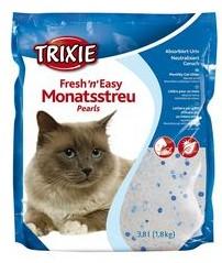 """Наполнитель для кошек """"Fresh n Easy Pearls"""" (круглые гранулы до 3мм) 3.8л Trixie"""