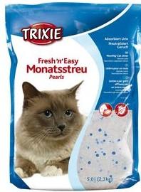"""Наполнитель для кошек """"Fresh n Easy Pearls"""" (круглые гранулы до 3мм) 5л Trixie"""