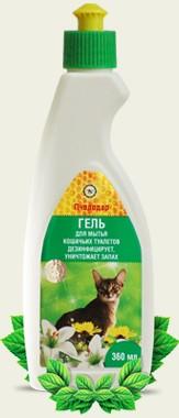 Гель для мытья кошачьих туалетов