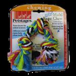 Petstages (Петстейджес) Mini Multi Rope Chew - Цветной канат с узлами - Игрушка для мелких собак