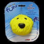 """PETSTAGES Ol Yellow Игрушка-пищалка для средних и крупных пород собак """"Желтая собака"""""""