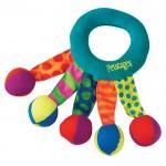 PETSTAGES Toss and Shake Игрушка для собак Кольцо-погремушка текстильное