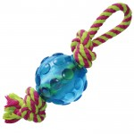 PETSTAGES Mini Orka Ball with rope Орка мини мячик с канатиками - игрушка для собак