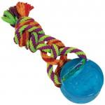 PETSTAGES Orka Dental Puck - Орка Шайба с канатом - игрушка для собак