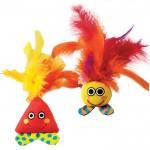 Petstages (Петстейджес) Feather Buddy приятели с перьями - игрушка для кошек