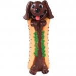 Petstages (Петстейджес) Lil Hot Diggity Dog - Собака Хот-Дог - Виниловая игрушка для собак