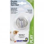 Petstages (Петстейджес) Double Action Spin Ball - Прозрачный СпинБолл игрушка для кошек