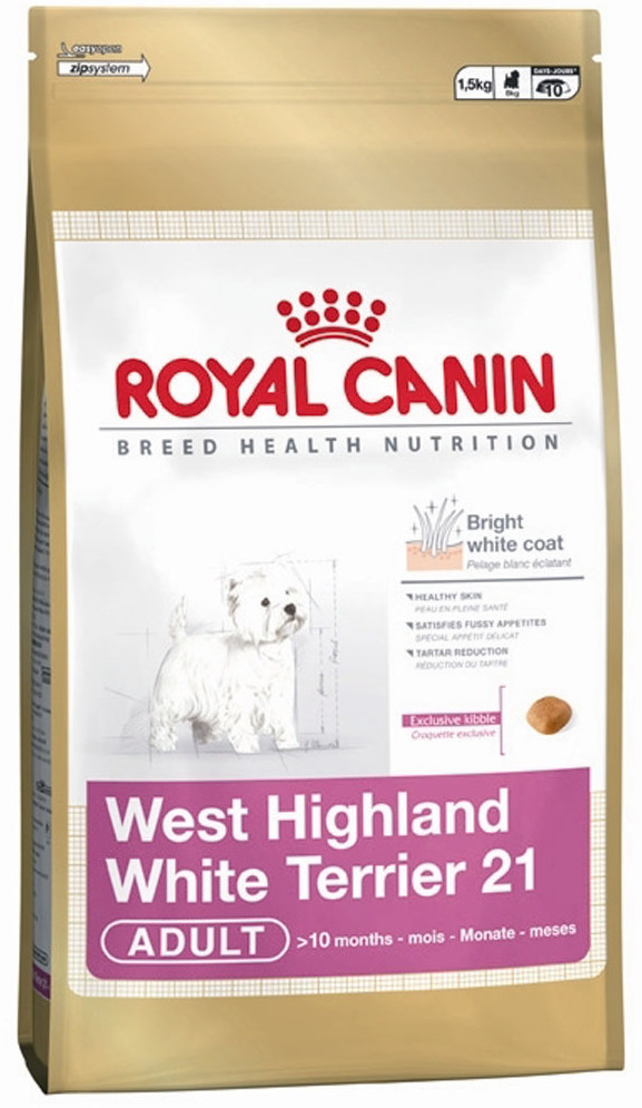 Сухой корм Royal Canin West Highland White Terrier Adult